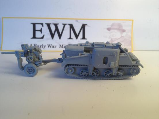"Loyd carrier ""early"" towing, No1  Mark 1, with 2 pounder ATG"