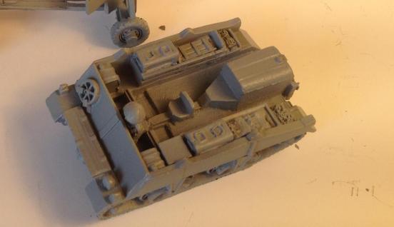 Loyd ammunition Carrier no1 Mk 2 for 6 pdr A/T gun.