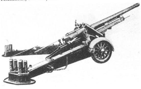 Canon de 120l Cockerill MLE 1931 and 6 man crew as a set