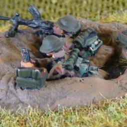 Bren gunner + number 2 gunner in a 2 man weapons pit
