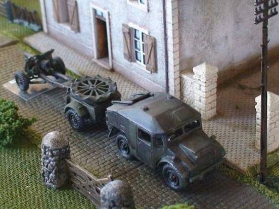 Guy Quad Ant - 4 x 4 Field Artillery tractor