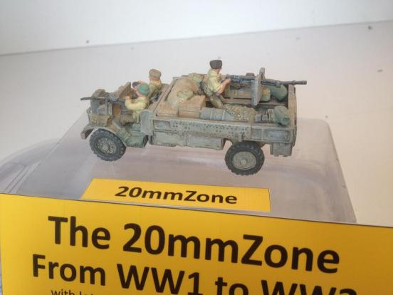 LRDG 30Cwt truck plus 20mm canon and 3 crew plus stowage