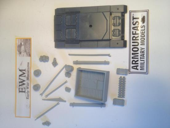 BergePanzer 3 aus J conversion set.