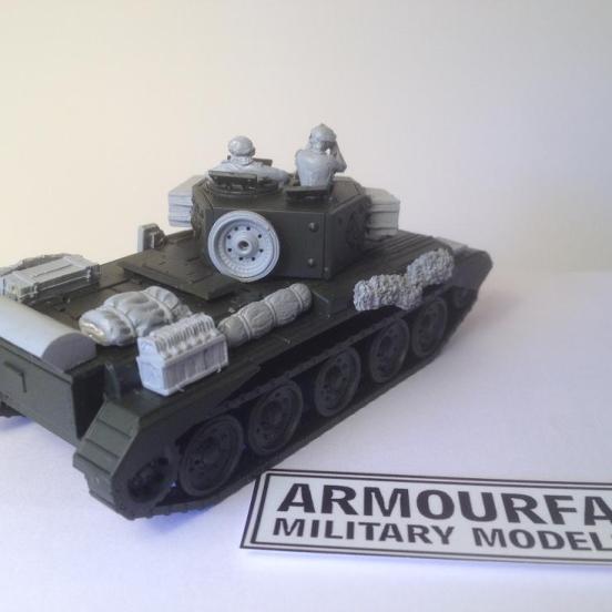 Cromwell 95mm Centaur conversion set for 1 model