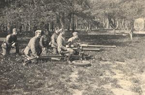 Kanon van 4.7 -  47mm Bohler anti-tank gun