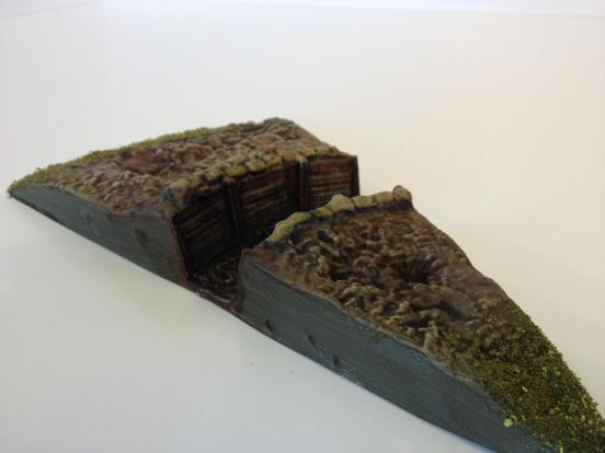 2 x Trench turn out sections in a pack.