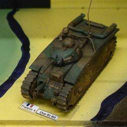Char B1 BIS heavy tank + crew new revised resin and metal model