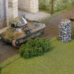 FCM 36 Tank- ready built, ready to paint