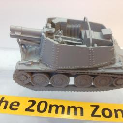 Grill H  sdkfz 138/1 150mm SPG with 2 crew, ammunition Plus