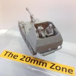 Panzerjager 38(t) M with 2 crew, ammunition accessories