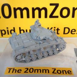 Panzer III Ausf N (SturmPanzer) early + 75mm gun, AA MMG