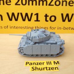 Panzer III M + Schurtzen