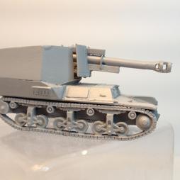 Lorraine 105mm SPG rapid build kit + 2 crew