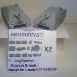 JadgPanther stowage set enough for 2 models
