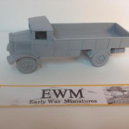 Lancia 3R0 truck Ready made ready to paint + rear load