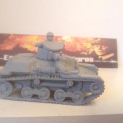 Type 97 Te-Ke Tankette with Crewman. ALL METAL VERSION