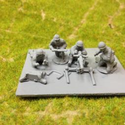 (TL)Model 92  Medium machine gun, with 4 crew firing,