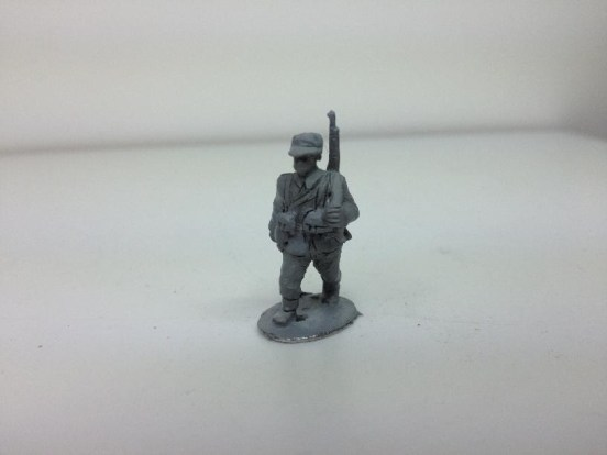 Infantry - Advancing with M/1898 Krag-Jorgensen Rifle slung