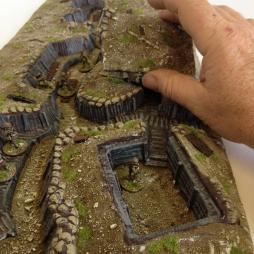 Linked Trench #1,  fully painted delux version.