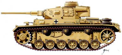 German PzIII AUSF J now with side skirts. 2 models in each box.