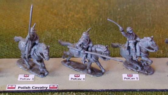 1 x Cavalry Ulan - Lancer mounted thrusting lance