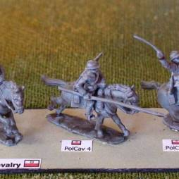 1 x Cavalry Ulan - Lancer mounted thrusting lance