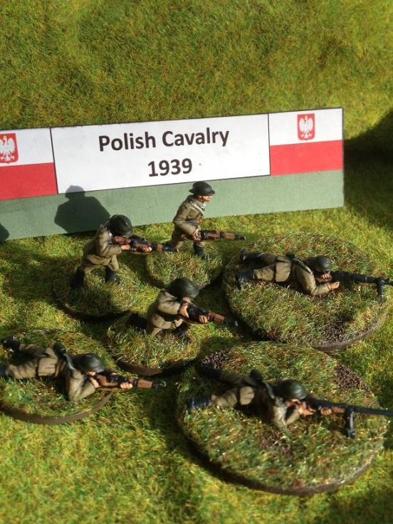 Polish Cavalry 3rd section dismounted section