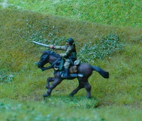 1 x Cavalry Ulan - comes with separate Sabre arm