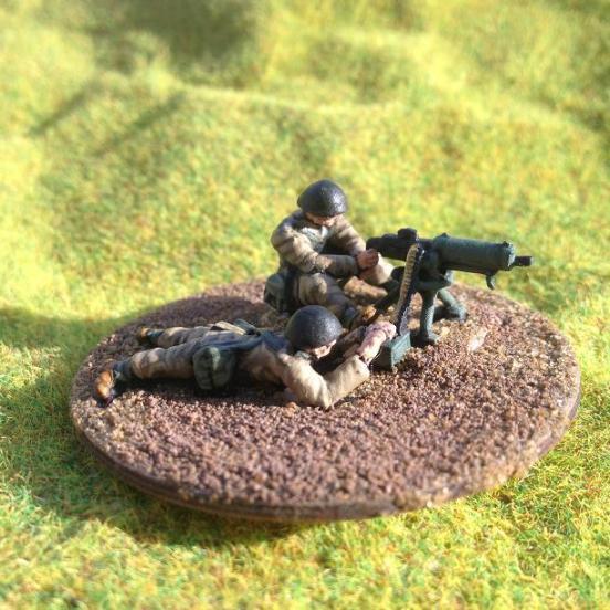 Polish Browning Machine Gun (Polish version) & 4 crew