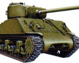 Sherman M4A3 76mm - 2 models in a box