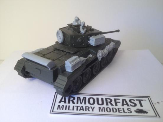 Cromwell stowage set for Armourfast or any models with enough for 2 models