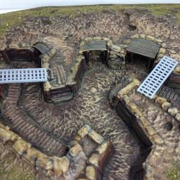 Trench Accessory pack 5. Contains 4 trench Bridges