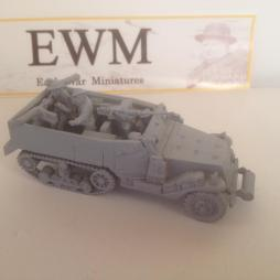 US M2 halftrack early war with .50 hmg, 2 x .30 water cooled M19