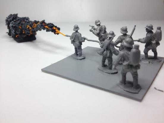 Special addition - Double Kleif M1917 with painted flame model