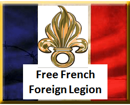 Free French Foreign Legion 1940 - 1943