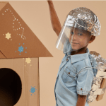 box dressed up lets pretend role play EYFS subscription box
