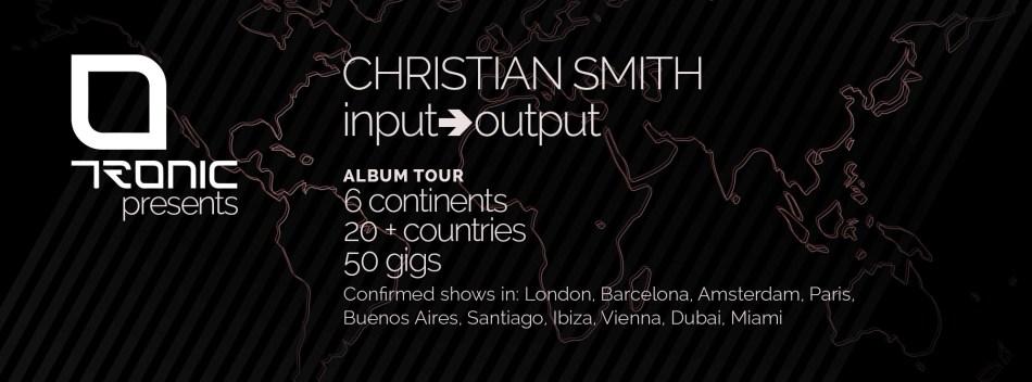 Input Output Tour Flyer
