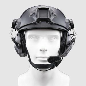 EARMOR M32H MOD1 Headset for Fast Helmet – Grey