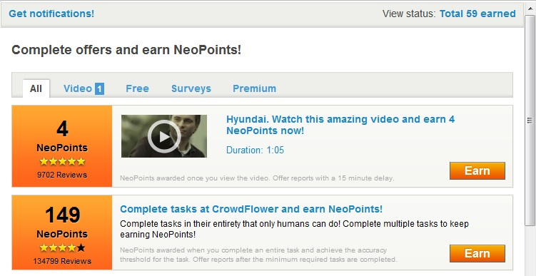 how to get free neopoints