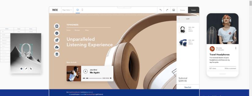 Wix - Professional web design software