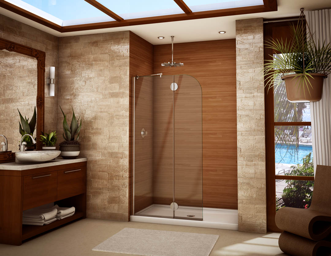 Bathroom Shower Doors A Simple Solution For Giving Your