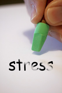 erasing the word stress