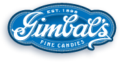 logo for Gimbals fine candy