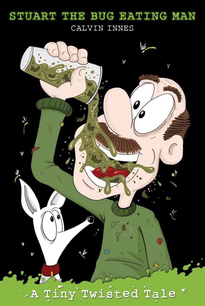 cover art for book Stuart the Bug Eating Man