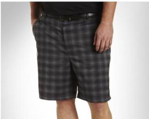 REEBOK GOLF PLAY DRY CONTINUOUS COMFORT FLAT-FRONT SHORTS