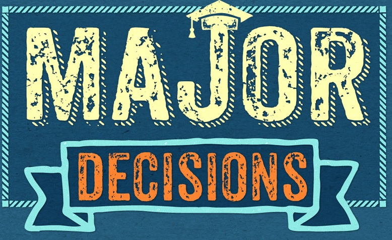 cover logo for major decisions infographic