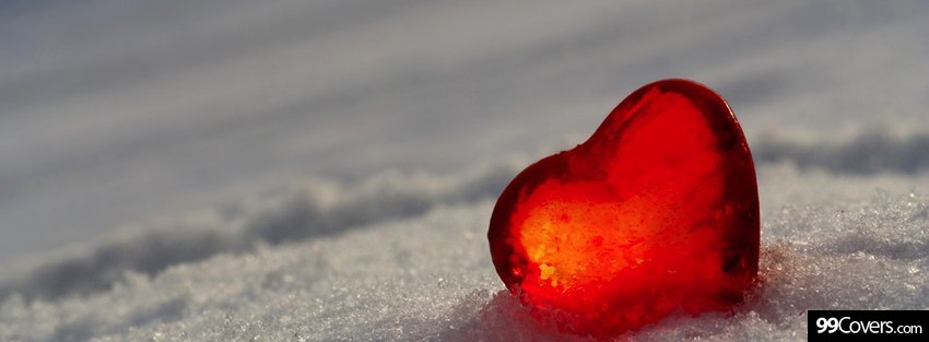 snow heart cover photo by 99covers.com