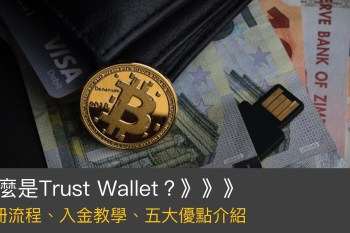 【註冊優惠】Trust Wallet介紹:最實用的加密貨幣錢包、圖解操作流程、入金教學、服務內容