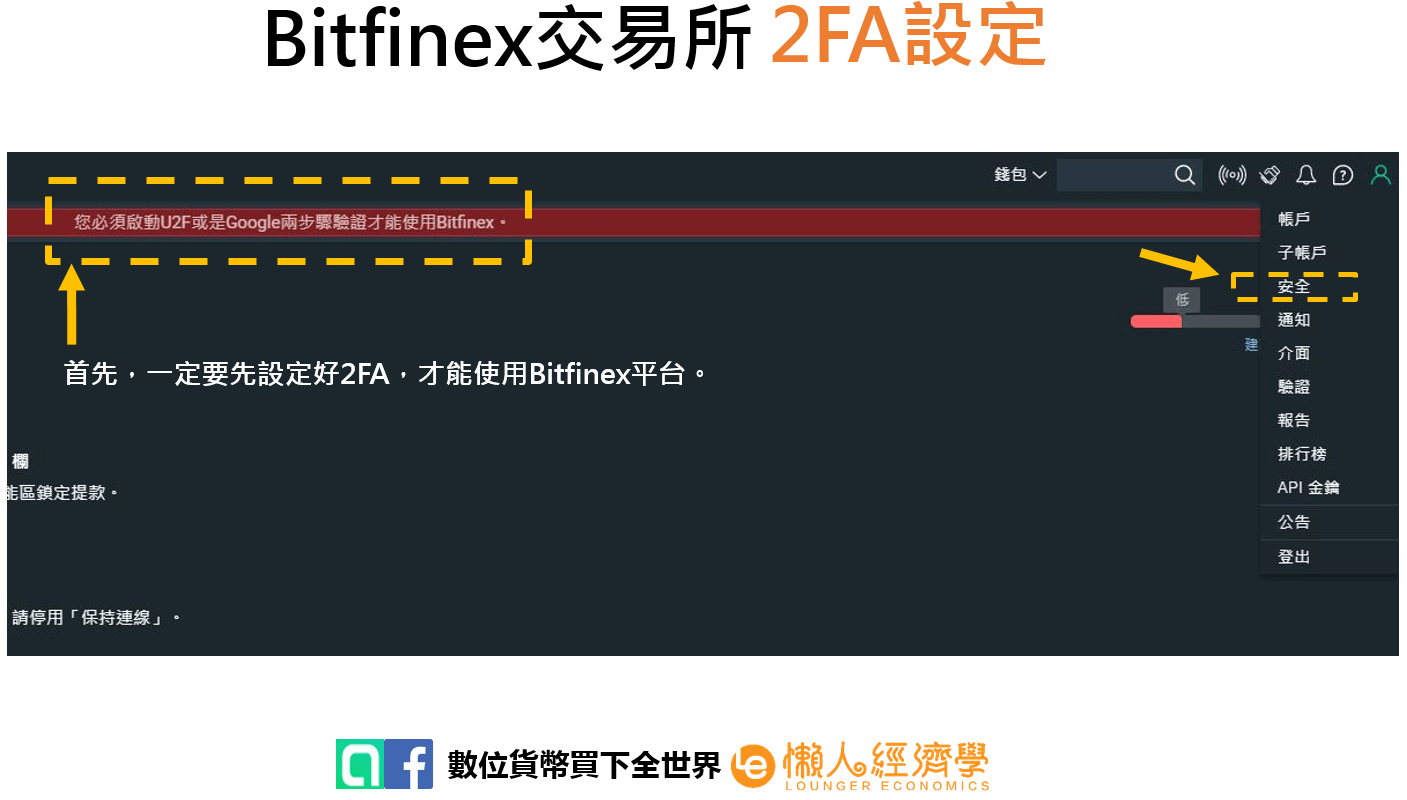 Bitfinex 2FA 2