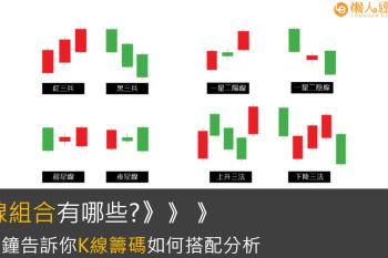 K線指南(二):K線怎麼看、K線組合有哪些?21種K線圖排列總整理